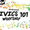 Generation Now 4th Annual Civics 101 Workshop